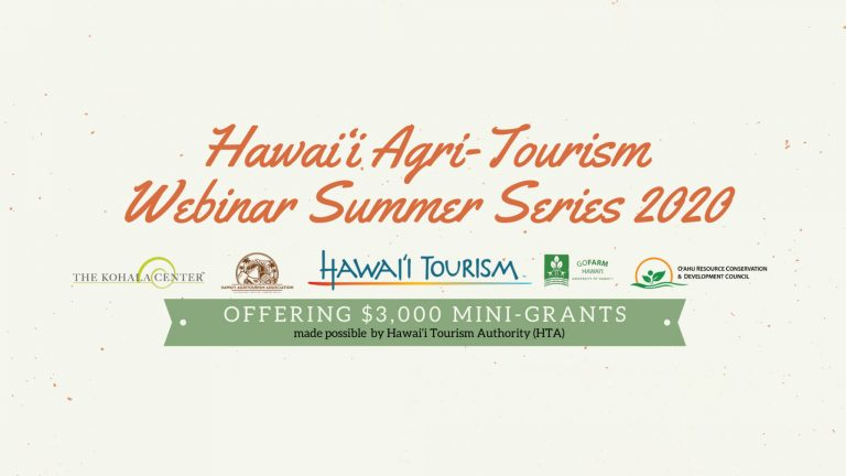 Hawai'i Agri-Tourism Support Mini-Grants