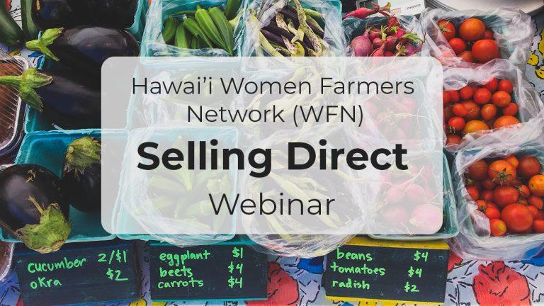 Selling Direct – Webinar